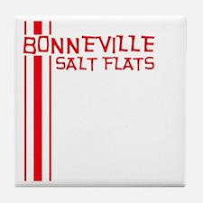 Retro Bonneville Salt Flats-R Tile Coaster