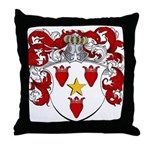 Van Blokland Coat of Arms Throw Pillow