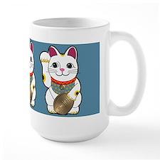 White Maneki Neko Mug