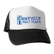 Retro Stripe-Bonneville Salt Trucker Hat