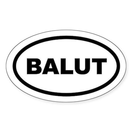 Balut Oval Sticker