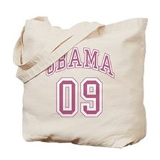 Barack Obama pnk 09 Tote Bag
