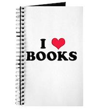 I Love Books Journal