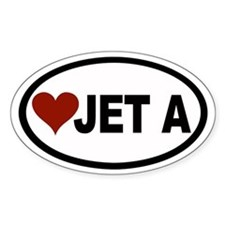 Aviation Euro Oval Decal