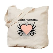 Endometrial Cancer Warrior Tote Bag
