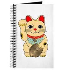 Gold Maneki Neko Journal