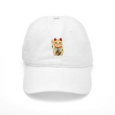 Gold Maneki Neko Baseball Cap