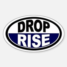 Drop/Rise DC-8 Euro Oval Decal