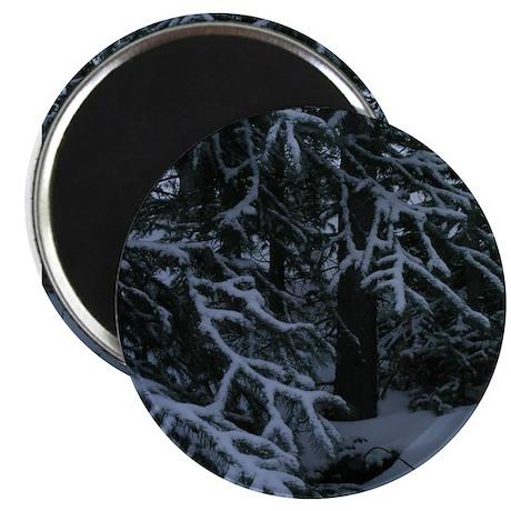"Fresh Fallen Snow 2.25"" Magnet (100 pack)"
