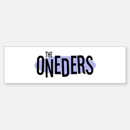 The ONEDERS Bumper Bumper Bumper Sticker