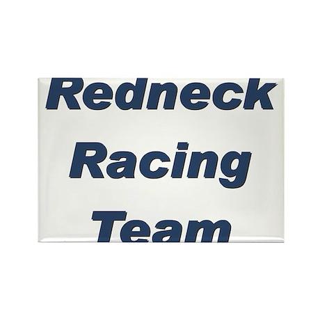 Redneck Racing Rectangle Magnet (100 pack)