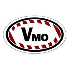 Vmo Oval Stickers