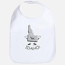 Funny Idaho potatoes Bib