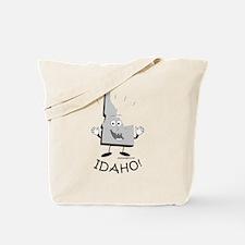 Funny Idaho potatoes Tote Bag
