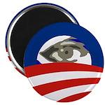 Barack Obama Eye Icon Fridge Magnet