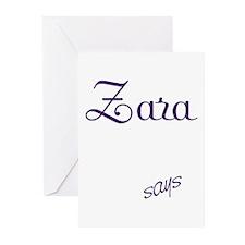 Zara! Design #113 Greeting Cards (Pk of 10)
