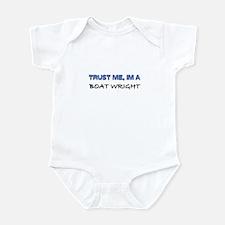 Trust Me I'm a Boat Wright Infant Bodysuit