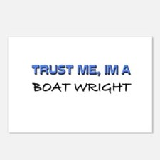 Trust Me I'm a Boat Wright Postcards (Package of 8