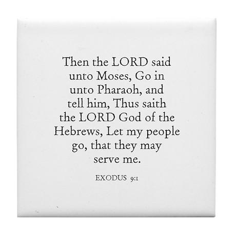 EXODUS 9:1 Tile Coaster