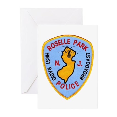 Roselle Park Police Greeting Cards (Pk of 10)