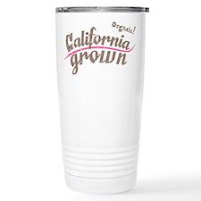 Organic! California Grown Stainless Steel Travel M
