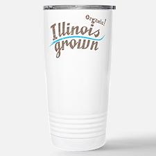 Organic! Illinois Grown! Travel Mug