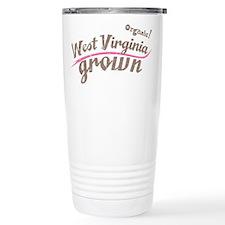 Organic! West Virginia Grown! Stainless Steel Trav