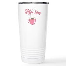 Coffee Shop Stainless Steel Travel Mug