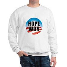 Hope Won - Barack Obama Logo Sweatshirt