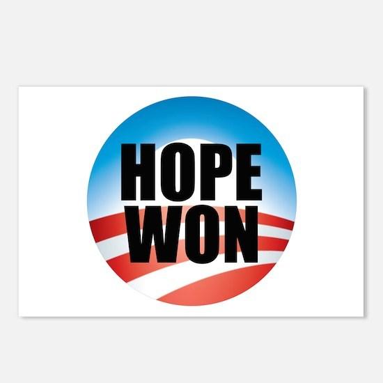 Hope Won - Barack Obama Logo Postcards (Package of