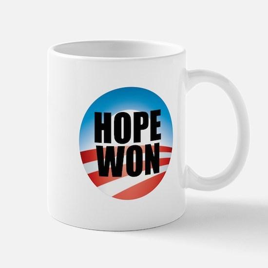 Hope Won - Barack Obama Logo Mug