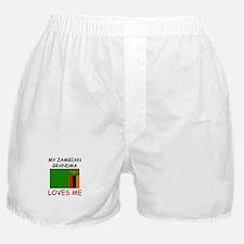 My Zambian Grandma Loves Me Boxer Shorts