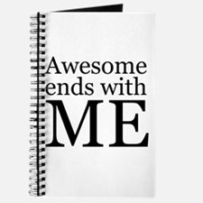 Awesome Ends with Me Journal