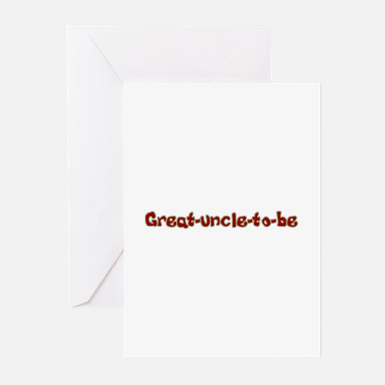 Great uncle to be Greeting Cards (Pk of 10)