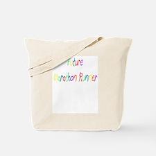 Future Marathon Runner Tote Bag