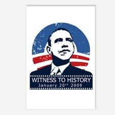 Obama Inauguration Postcards (Package of 8)