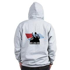 1-20-09 Obama Inauguration Zip Hoodie
