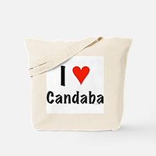 I love Candaba Tote Bag