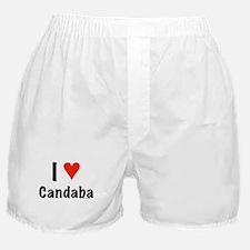 I love Candaba Boxer Shorts