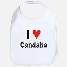 I love Candaba Bib