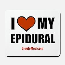 Epidural Love Mousepad