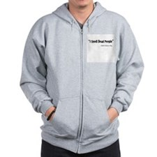 Unique Search dog Zip Hoodie