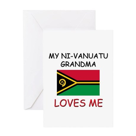 My Ni-Vanuatu Grandma Loves Me Greeting Card