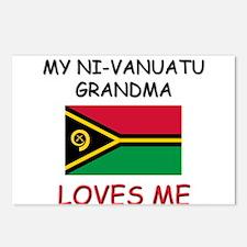 My Ni-Vanuatu Grandma Loves Me Postcards (Package