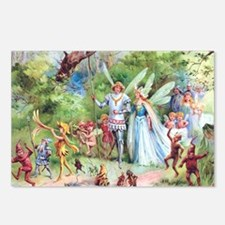 THE MARRIAGE OF THUMBELINA Postcards (Package of 8
