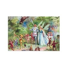 THE MARRIAGE OF THUMBELINA Rectangle Magnet