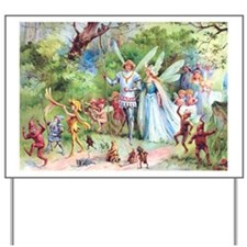 THE MARRIAGE OF THUMBELINA Yard Sign