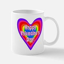 rainbow heart valentine 1 Mug