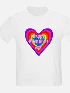 rainbow heart valentine 1 T-Shirt