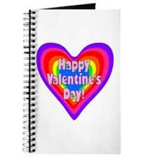 rainbow heart valentine 1 Journal